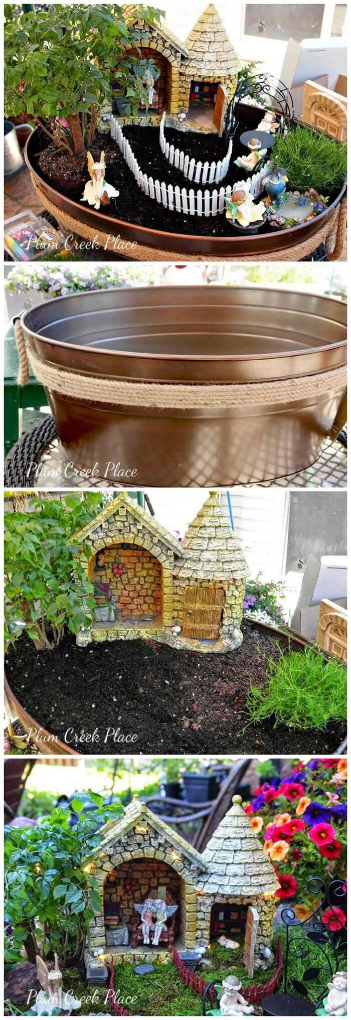 DIY Your Own Fairy Garden