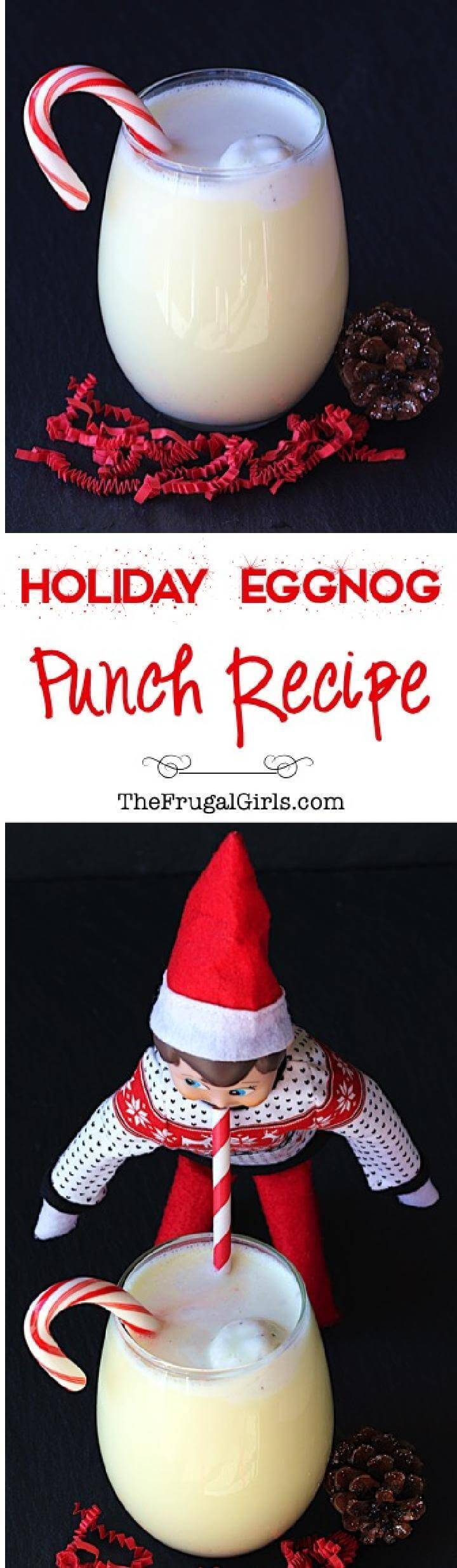 Holiday Eggnog Party Punch Free Recipe