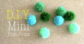 How to Make Yarn Pom Pom - DIY Pom Poms