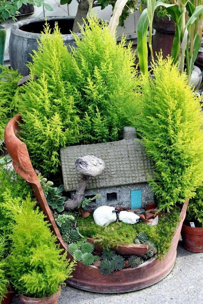 How to Make a Li'l Fairy Garden