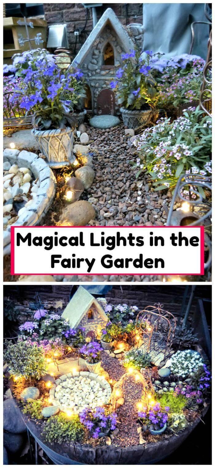 Magical Lights in the Fairy Garden