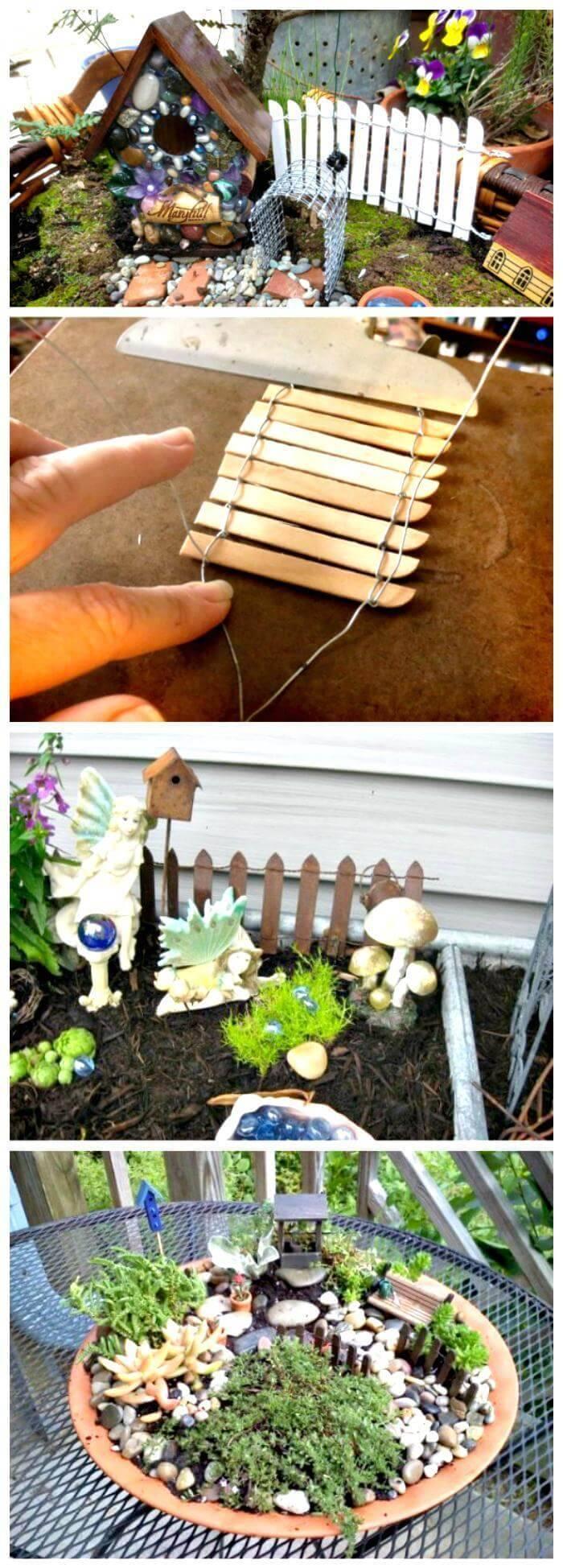 Make Your Own Fairy Garden Fence