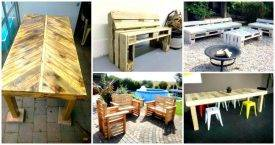 Pallet Ideas to DIY Your Own Pallet Furniture