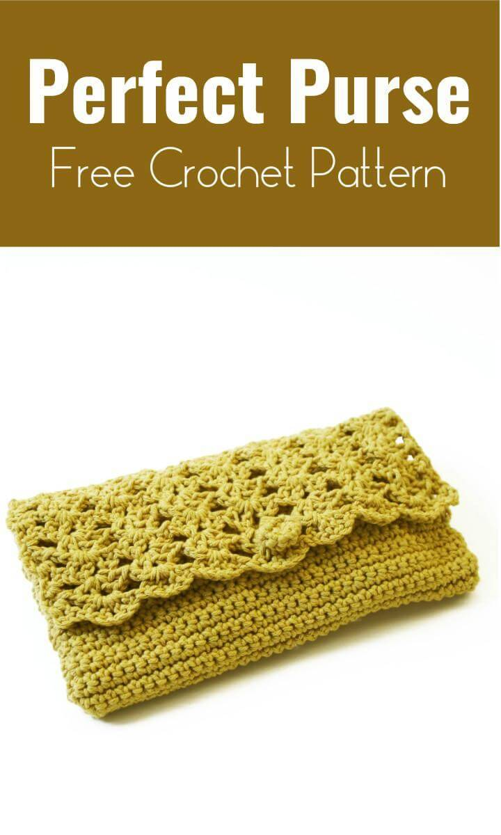 Perfect Purse  Free Crochet Pattern