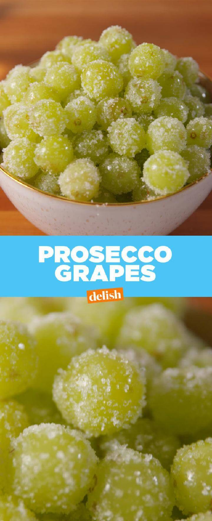 Prosecco Grapes for Graduation Party