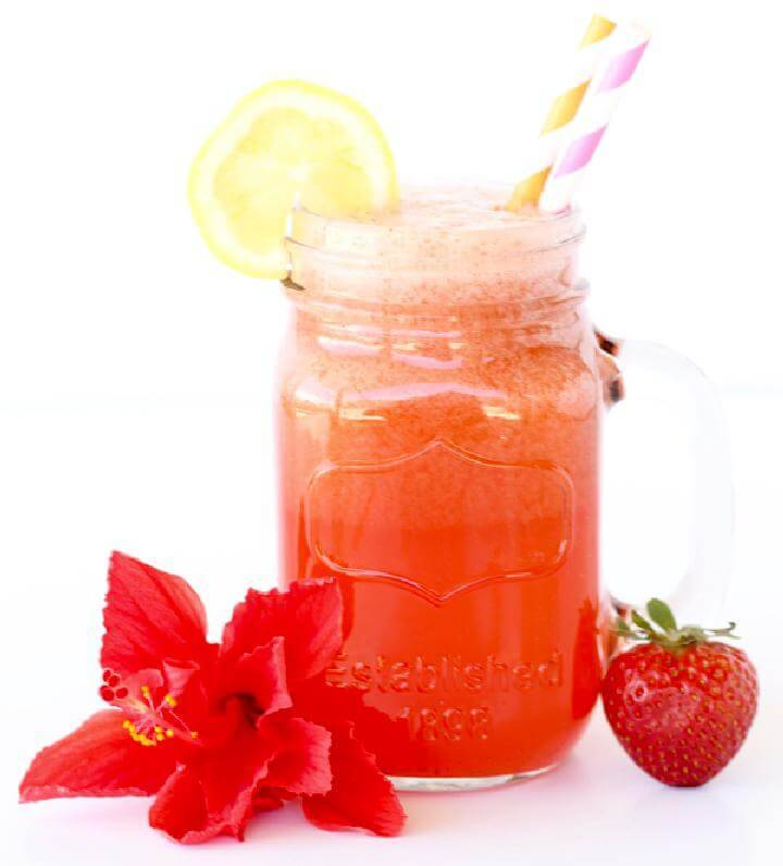 Strawberry Lemonade Party Punch Free Recipe