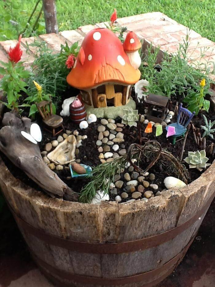 The Fairy Garden - DIY