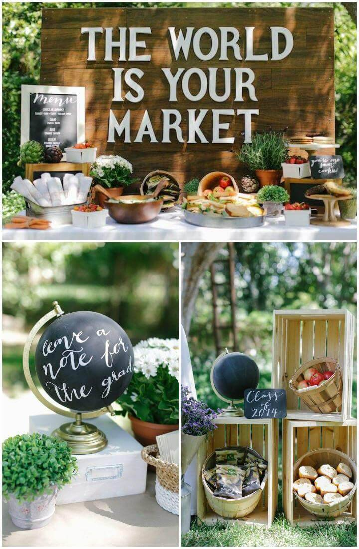 The World Market Graduation Party Theme
