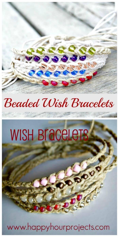Beaded Wish Bracelets