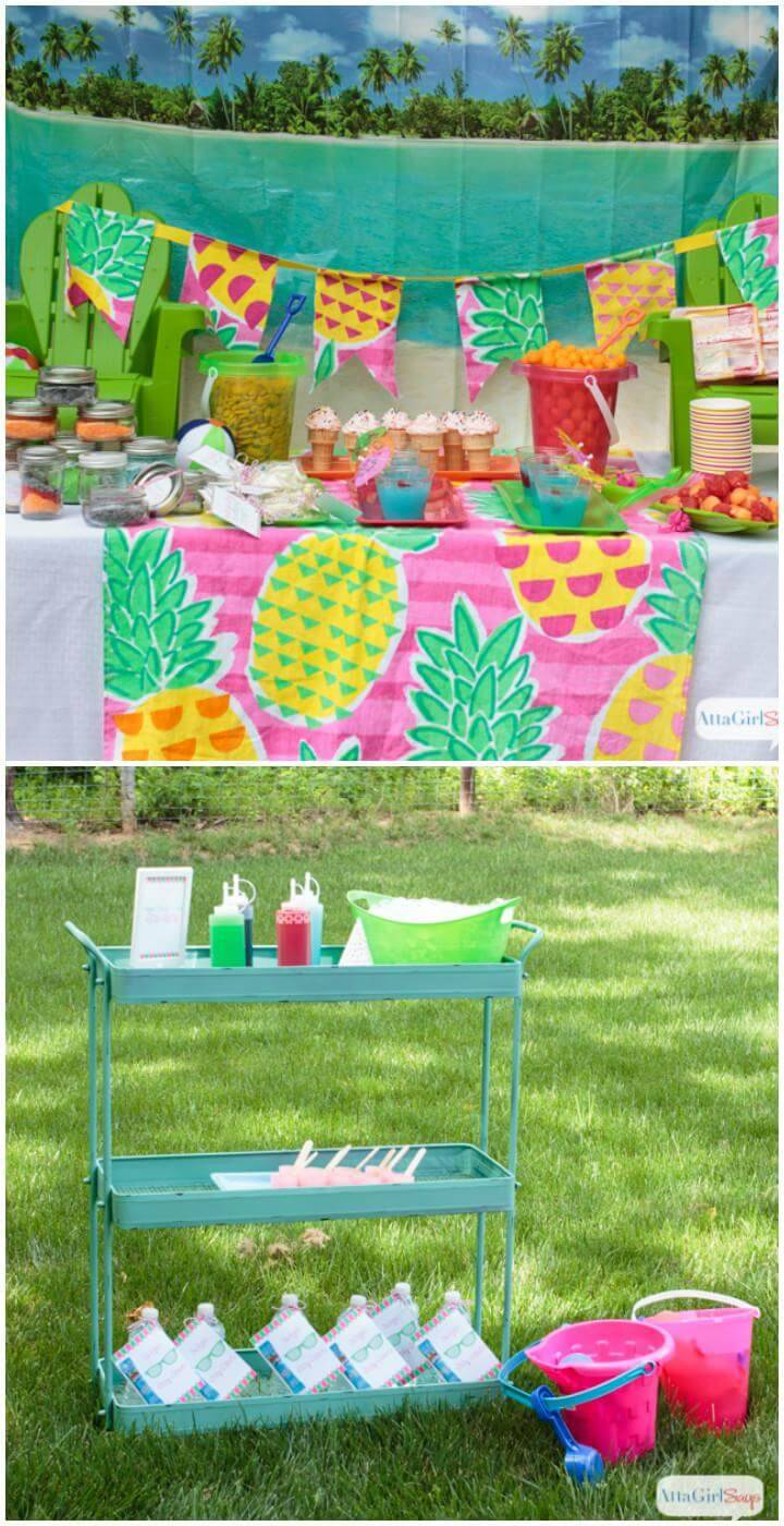 DIY Backyard Teen Birthday Idea