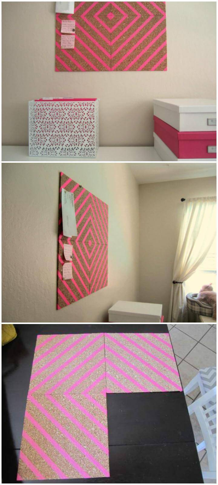 DIY Beautiful Washi Tape Chalkboard