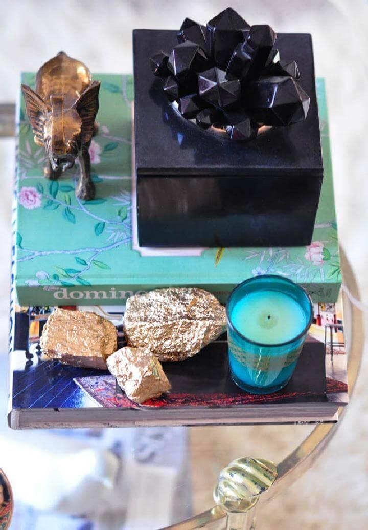 DIY Easy Faux Crystals