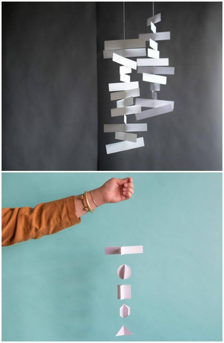 DIY Easy Franz Paper Mobile