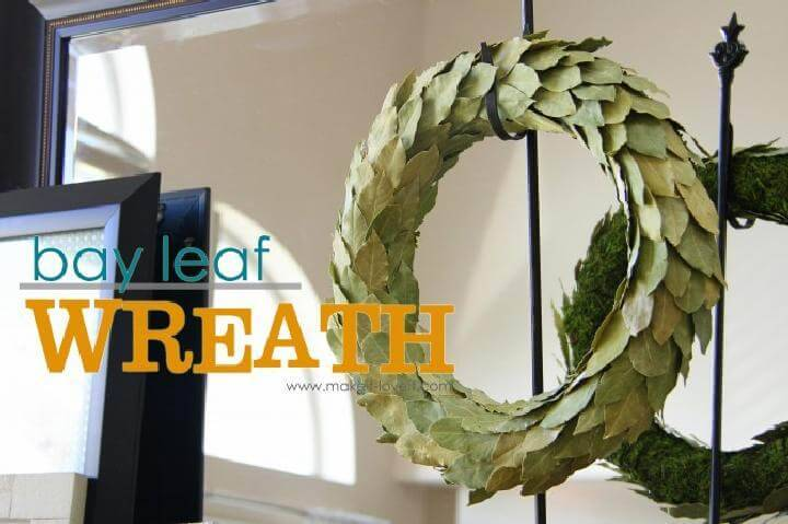 DIY Easy but Beautiful Baby Leaf Wreath