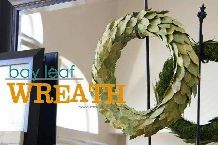 DIY Easy but Beautiful Baby Leaf Wreath