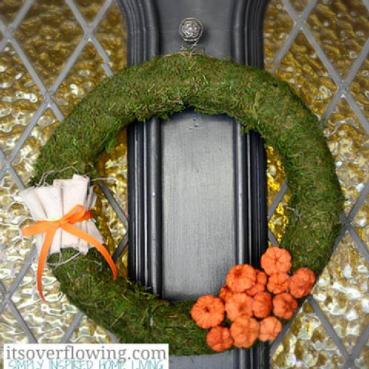 DIY Eye-Catching Fall Porch Wreath