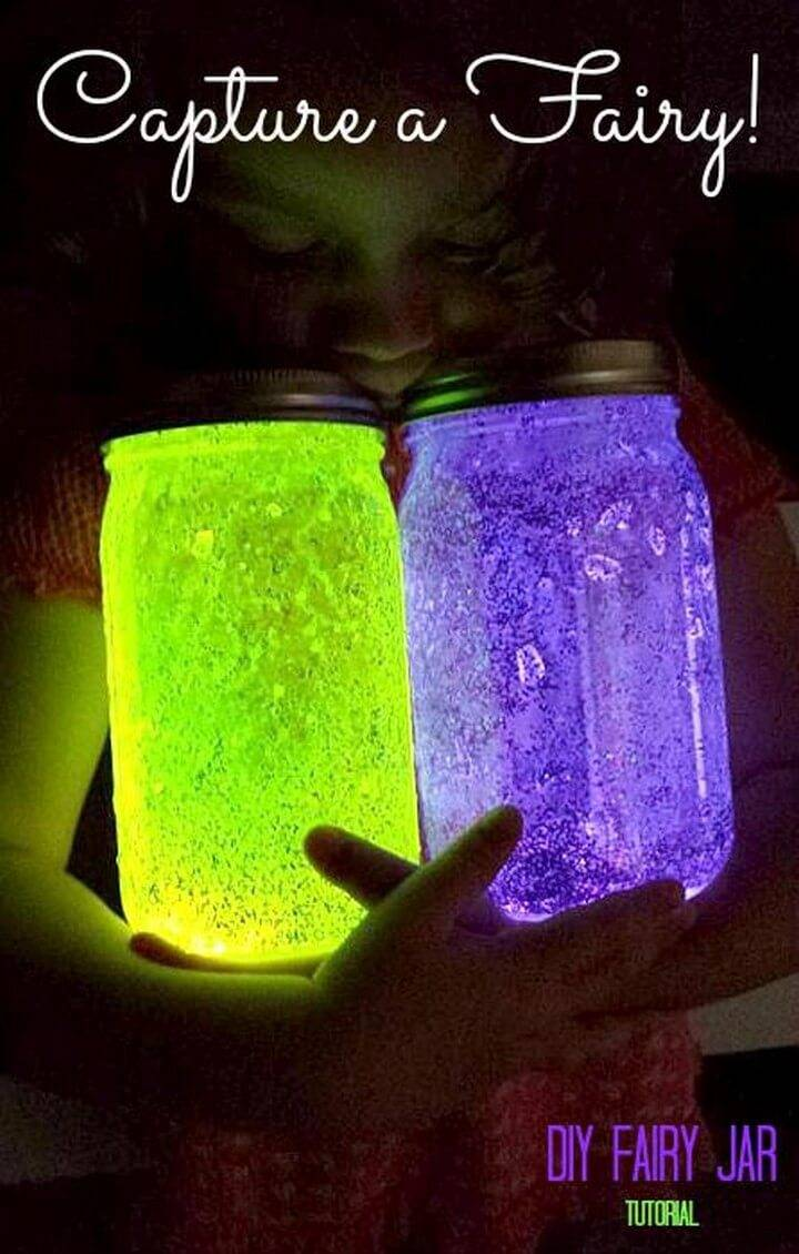 DIY Fairy Mason Jar Gifts
