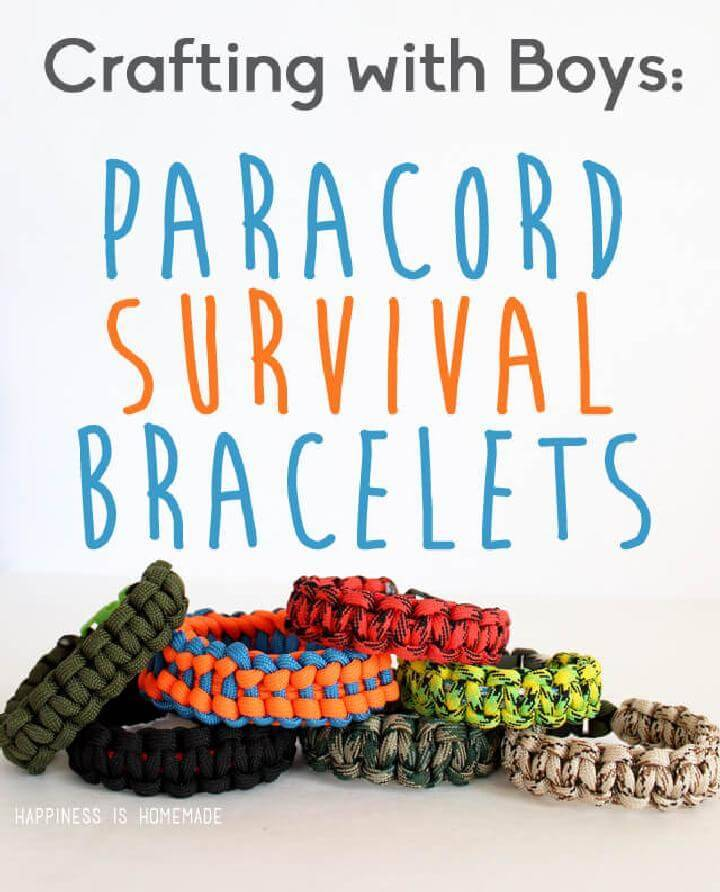 DIY Fashion-Worthy Paracord Bracelets