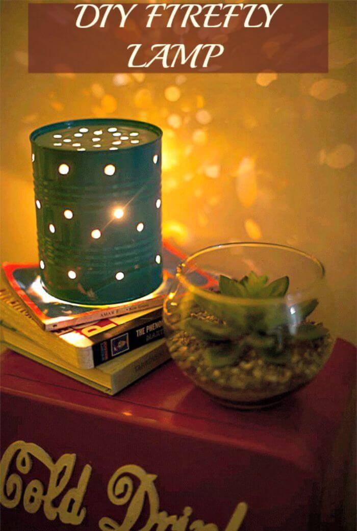 DIY Firefly lamp