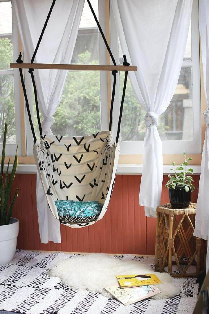 DIY Homemade Hammock Chair