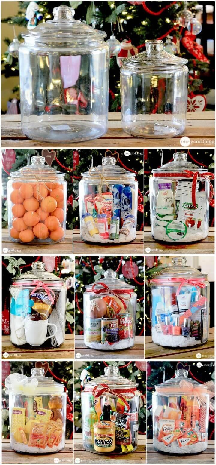 DIY Inexpensive Gifts in Mason Jars