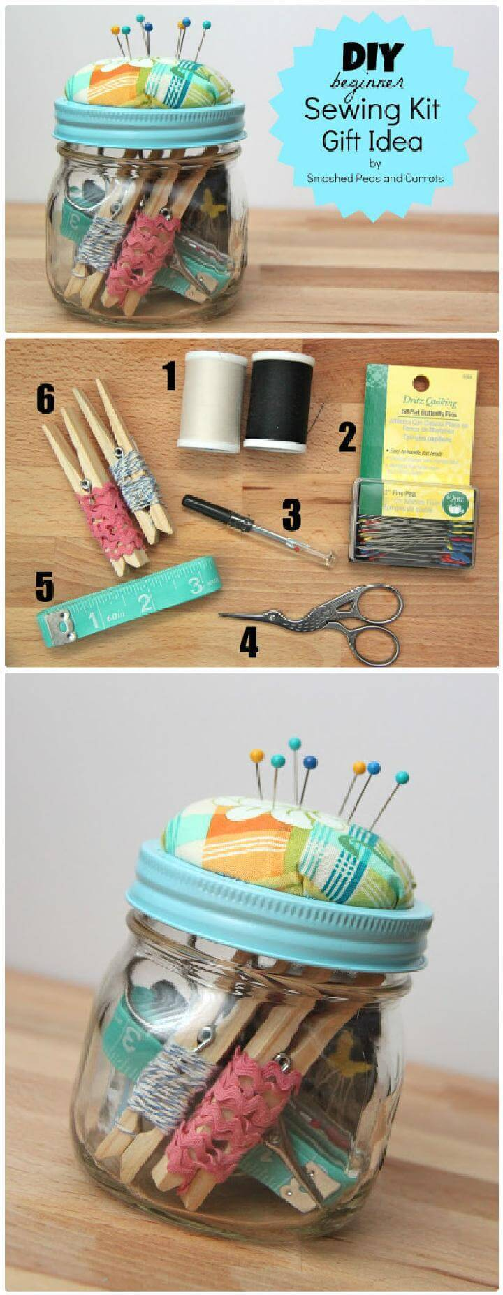 160 diy mason jar crafts and gift ideas page 3 of 17 for Diy crafts for beginners