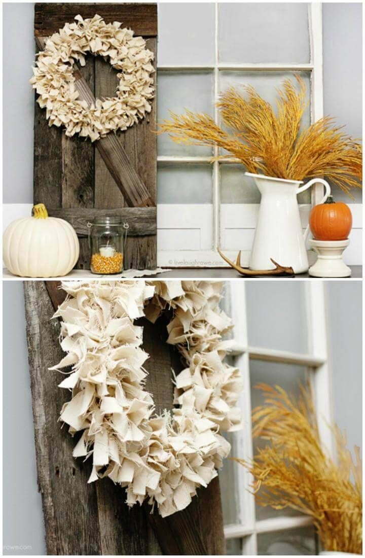 DIY Natural Homemade Fall Wreath