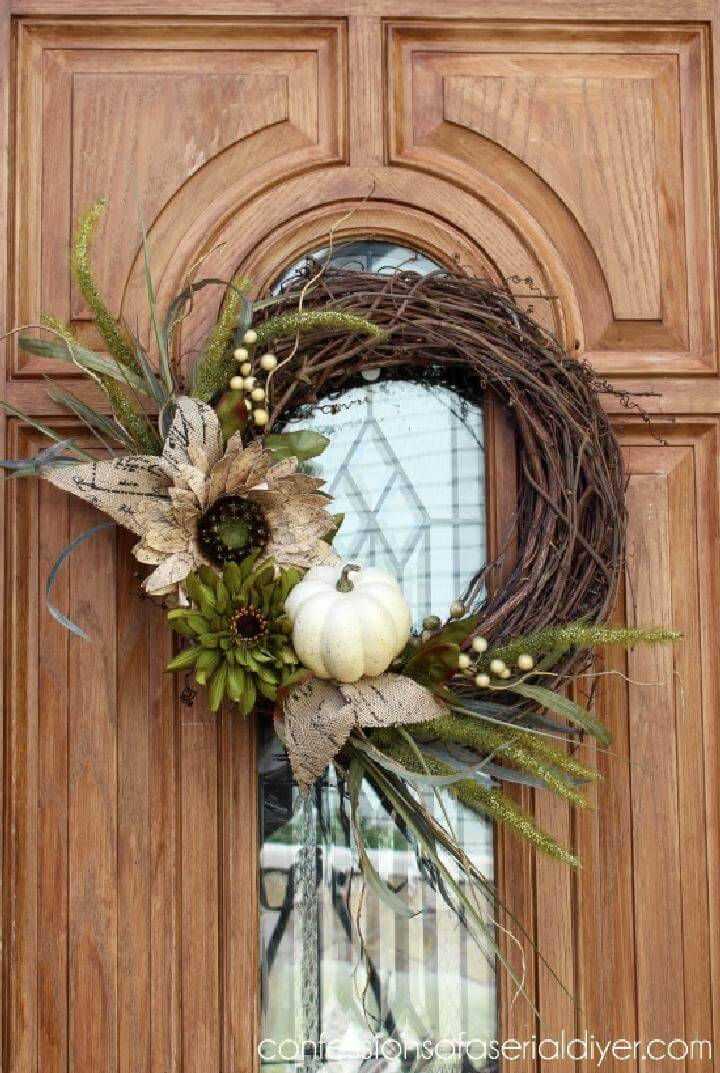DIY Perfect Fall Wreath