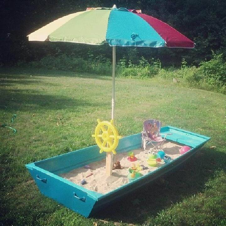 DIY Sandbox Boat Step-by-Step