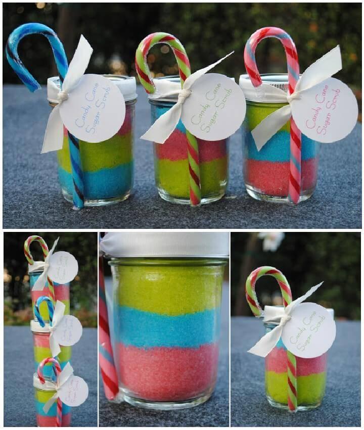 DIY Sugar Scrub Mason jar Gift for Girls