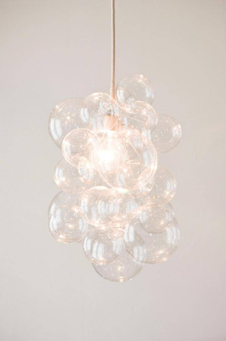 DIY Superb Bubble Chandelier