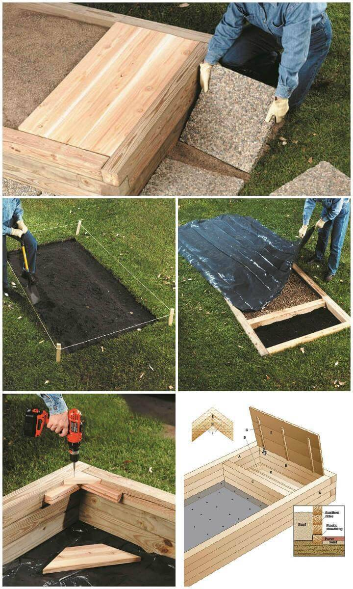 DIY Timber Frame Sandbox Step-by-Step Tutorial