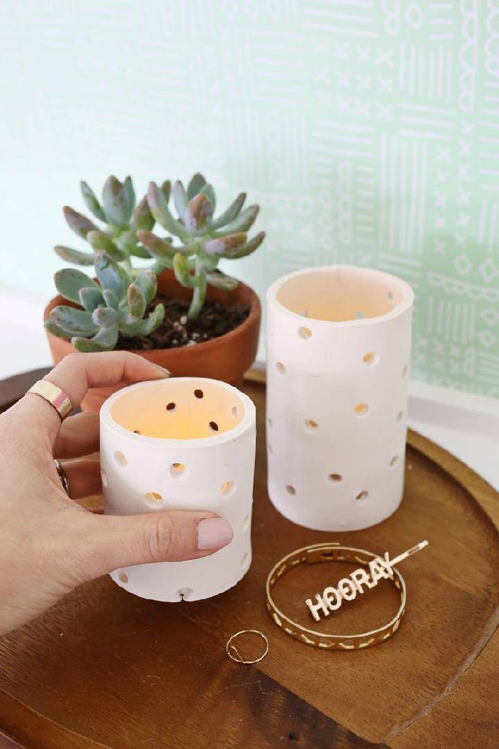 DIY Timeless Clady Votive
