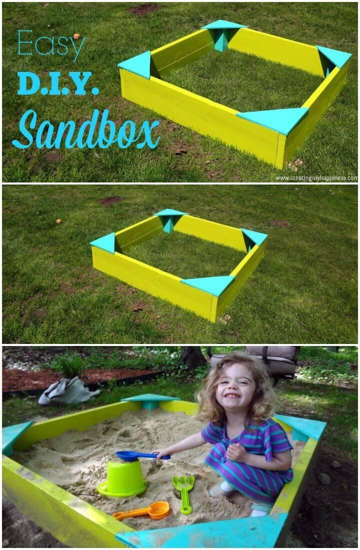 DIY Timeless Kids Sandbox