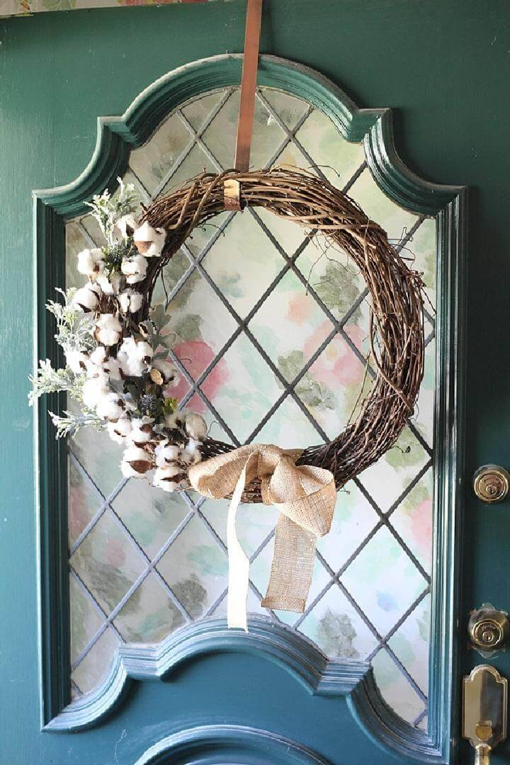 DIY Timeless Rustic Fall Wreath