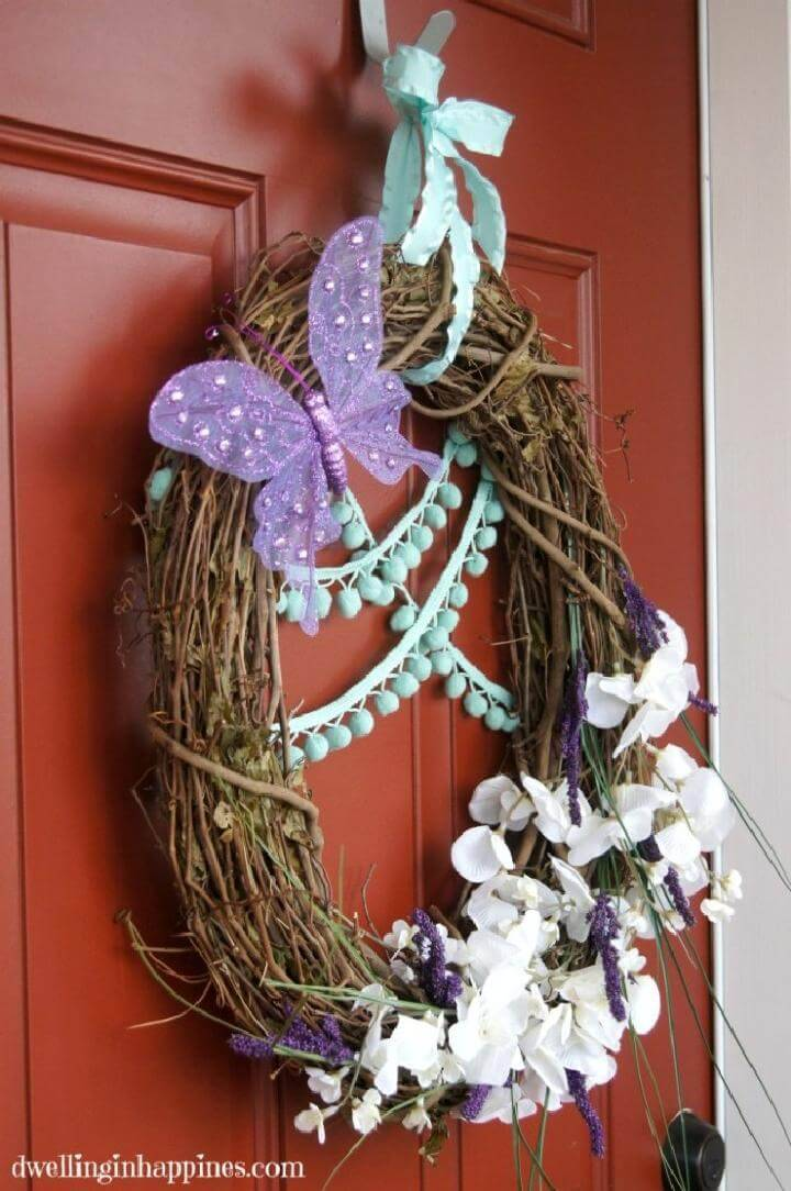 DIY Easy and Timeless Spring Wreath