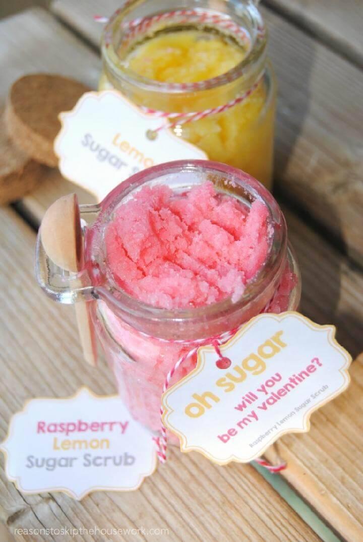Easy Sugar Scrub Free Recipe
