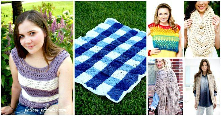 Free Crochet Patterns for Summer and Spring