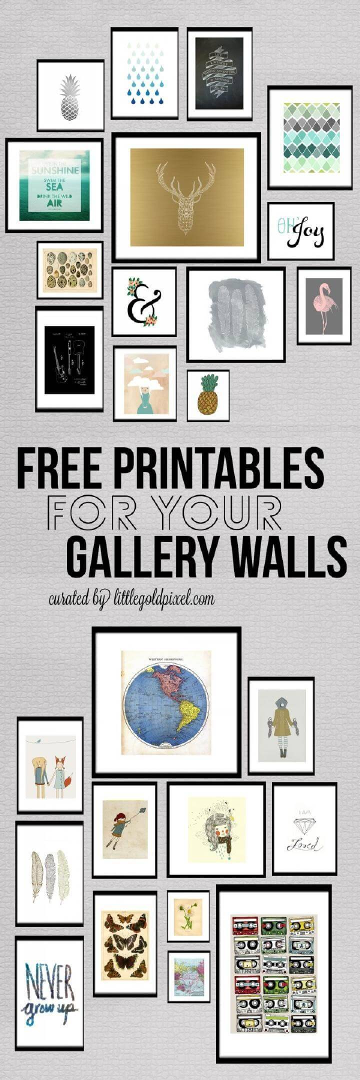 Free Gallery Wall Printables