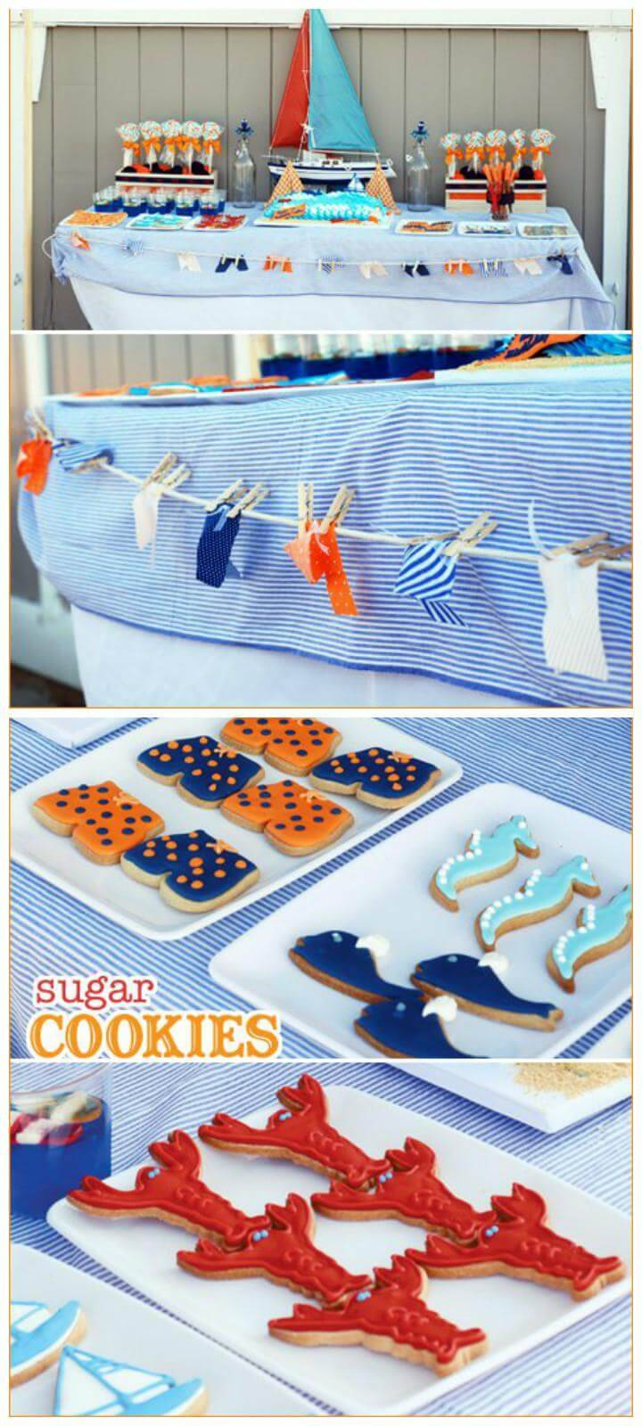 Gorgeous Preppy Beach Tween Party Theme