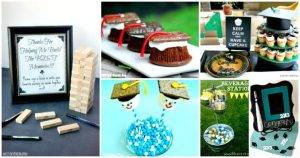 101 Graduation Party Ideas That You haven't Seen Before in Grad Party