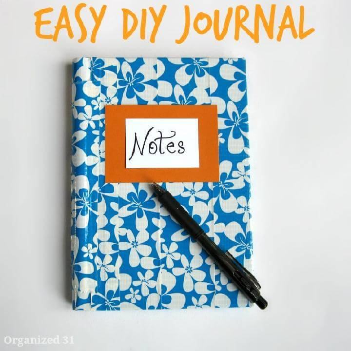 Handcrafted Easy DIY Journal