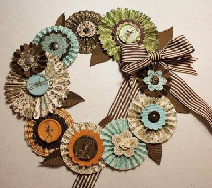 Handcrafted Easy Fall Wreath