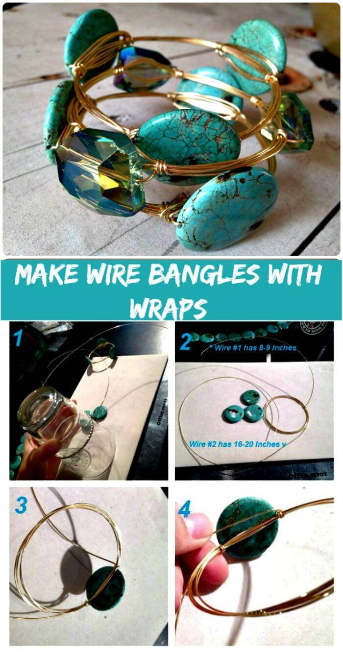 Make Wire Wrapped Bracelets