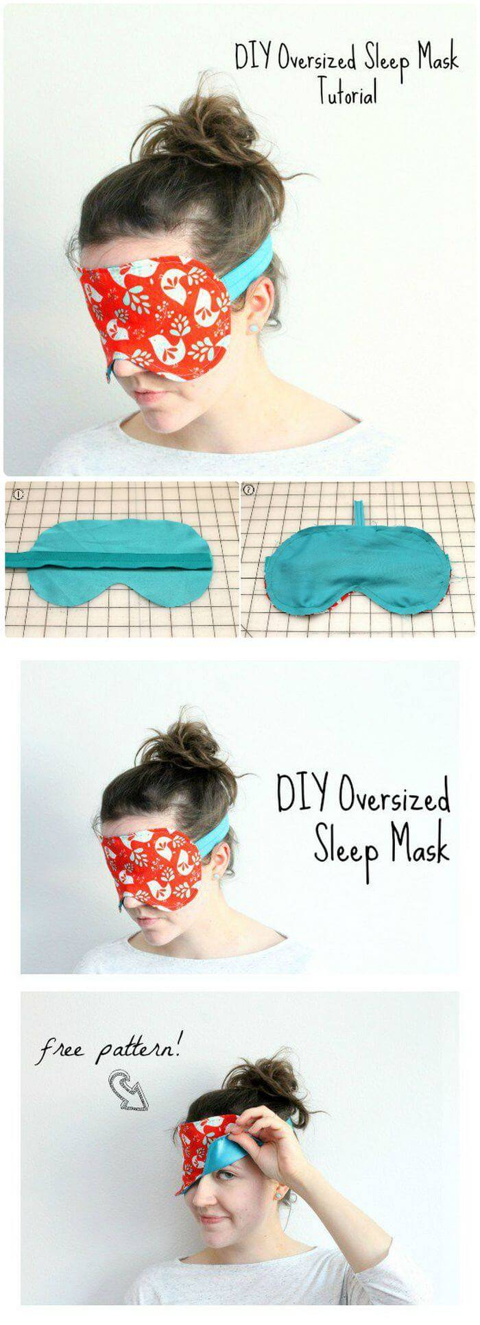 Oversized Sleep Mask