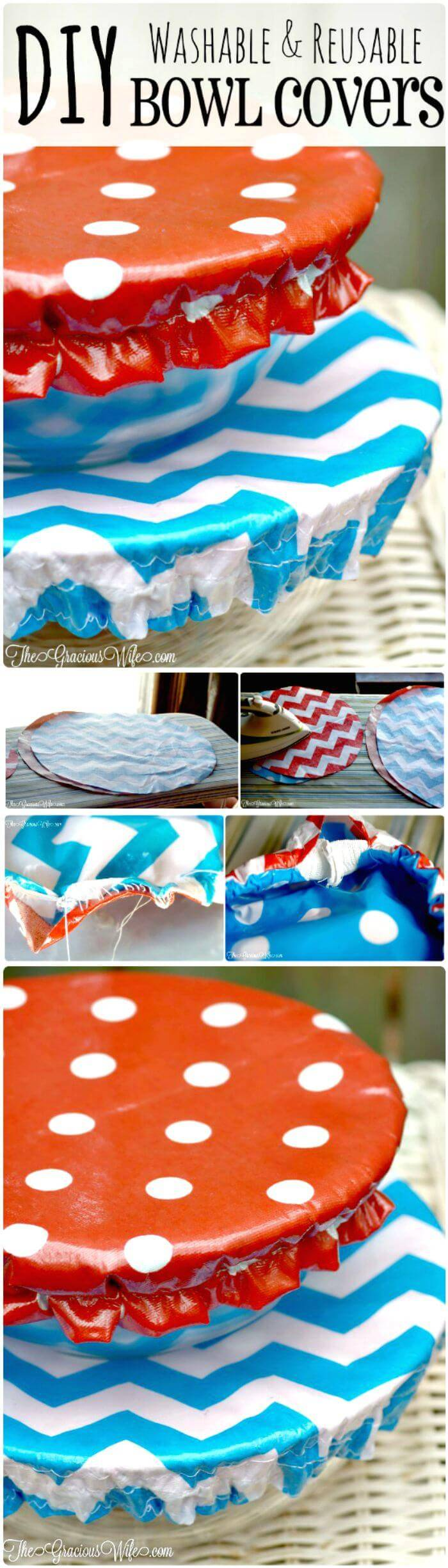 Washable Bowl Covers