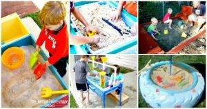 60+ DIY Sandbox Ideas and Projects for Kids