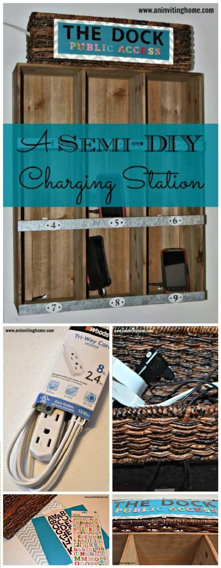 A Semi-DIY Charging Station