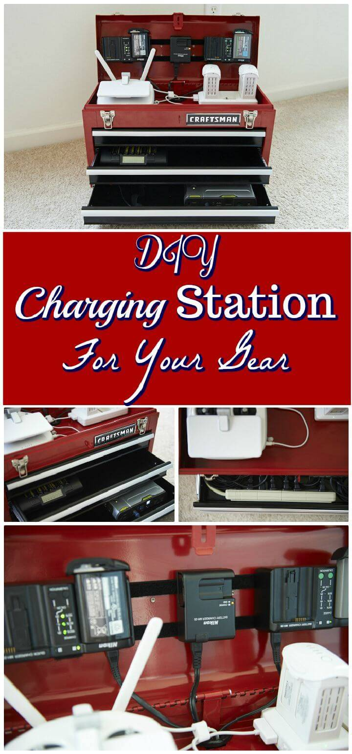 DIY Charging Station For Your Gear
