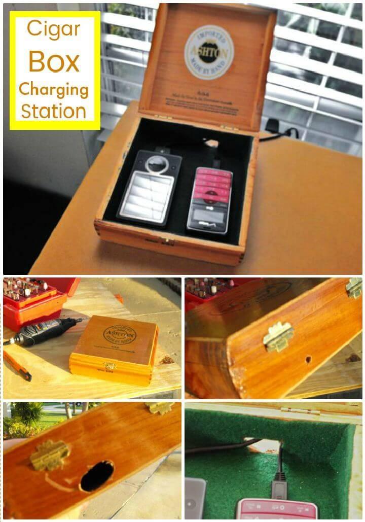 DIY Cigar Box Charging Station